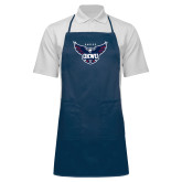 Full Length Navy Apron-Primary Athletics Mark