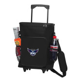 30 Can Black Rolling Cooler Bag-Primary Athletics Mark