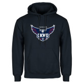Navy Fleece Hoodie-Primary Athletics Mark