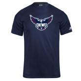 Russell Core Performance Navy Tee-OKWU Full Eagle