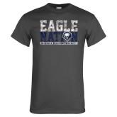 Charcoal T Shirt-Eagle Nation