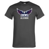 Charcoal T Shirt-Alumni