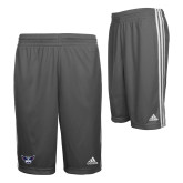 Adidas Climalite Charcoal Practice Short-Primary Athletics Mark