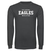 Charcoal Long Sleeve T Shirt-Oklahoma Eagles Wesleyan
