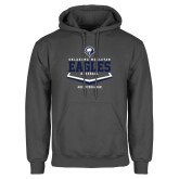 Charcoal Fleece Hoodie-Baseball Plate