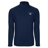 Sport Wick Stretch Navy 1/2 Zip Pullover-Primary Athletics Mark