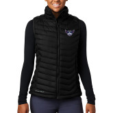 Columbia Lake 22 Ladies Black Vest-Primary Athletics Mark