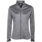 Ladies Callaway Stretch Performance Heather Grey Jacket-Primary Athletics Mark