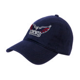 Navy Twill Unstructured Low Profile Hat-Half Eagle OKWU