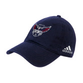 Adidas Charcoal Slouch Unstructured Low Profile Hat-Primary Athletics Mark