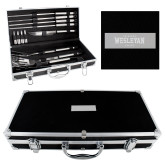 Grill Master Set-Oklahoma Wesleyan Eagles Engraved