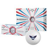 Callaway Supersoft Golf Balls 12/pkg-Primary Athletics Mark