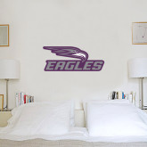 1.5 ft x 3 ft Fan WallSkinz-Eagles with Head