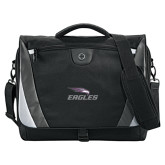 Slope Black/Grey Compu Messenger Bag-Eagles with Head