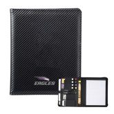 Carbon Fiber Tech Padfolio-Eagles with Head