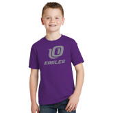 Youth Purple T Shirt-UO