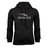 Black Fleece Hoodie-Eagles with Head