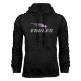 Black Fleece Hoodie-Eagles with Head
