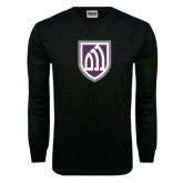 Black Long Sleeve TShirt-Shield