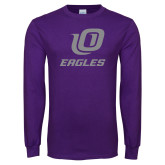Purple Long Sleeve T Shirt-UO