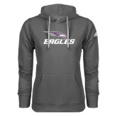 Adidas Climawarm Charcoal Team Issue Hoodie-Eagles with Head