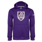 Under Armour Purple Performance Sweats Team Hoodie-Shield