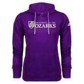 Adidas Climawarm Purple Team Issue Hoodie-Primary Mark