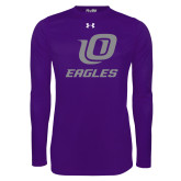 Under Armour Purple Long Sleeve Tech Tee-UO