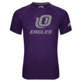 Adidas Climalite Purple Ultimate Performance Tee-UO