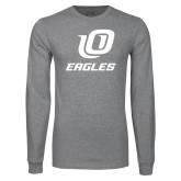 Grey Long Sleeve T Shirt-UO