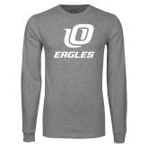 Grey Long Sleeve T Shirt-UO