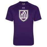 Under Armour Purple Tech Tee-Shield