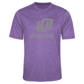 Performance Purple Heather Contender Tee-UO