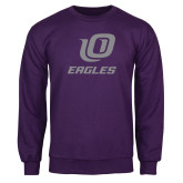 Purple Fleece Crew-UO