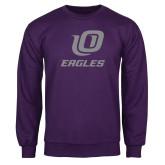 Purple Fleece Crew-UO