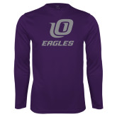 Syntrel Performance Purple Longsleeve Shirt-UO
