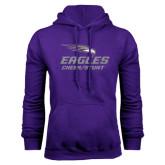 Purple Fleece Hoodie-Cheer and Stunt