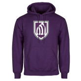 Purple Fleece Hoodie-Shield