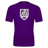 Performance Purple Tee-Shield