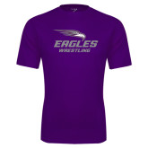 Syntrel Performance Purple Tee-Wrestling
