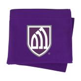 Purple Sweatshirt Blanket-Shield