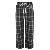 Black/Grey Flannel Pajama Pant-Shield