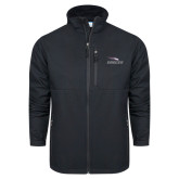 Columbia Ascender Softshell Black Jacket-Eagles with Head