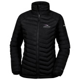 Columbia Mighty LITE Ladies Black Jacket-Eagles with Head