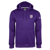 Under Armour Purple Performance Sweats Team Hoodie-Shield