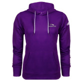 Adidas Climawarm Purple Team Issue Hoodie-Eagles with Head