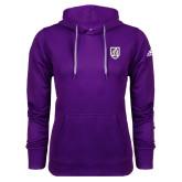 Adidas Climawarm Purple Team Issue Hoodie-Shield