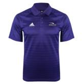 Adidas Climalite Purple Jaquard Select Polo-Eagles with Head