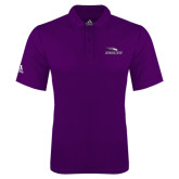Adidas Climalite Purple Game Time Polo-Eagles with Head