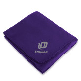 Purple Arctic Fleece Blanket-UO